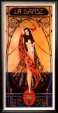 La Danse Framed Giclee Print by Emilio Vila