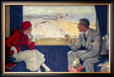 Lowestoft, LNER/LMS Poster, 1933 Framed Giclee Print by Arthur C Michael