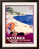 Antibes Framed Giclee Print