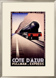 Cote d'Azur Framed Giclee Print