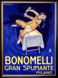 Bonomelli Gran Spumante Framed Giclee Print by Achille Luciano Mauzan