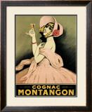 Cognac Montangon Framed Giclee Print