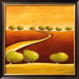 Roads I Poster by Stacy Dynan