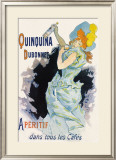 Quinquina Dubonnet Framed Giclee Print by Jules Chéret