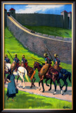 The Road of the Roman Framed Giclee Print by W P Wollen