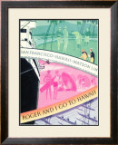 Roger And I Go To Hawaii, Matson Line Framed Giclee Print