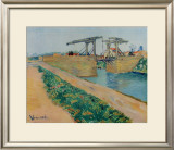 The Drawbridge at Arles Prints by Vincent van Gogh