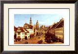 Der Marktplatz Zu Pirna Prints by Bernardo Belotto