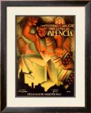 Valencia Festividad Framed Giclee Print by  Fulgencio