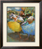 Three Dancers, 1898 Prints by Edgar Degas
