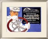 Automobil Ausstellung Framed Giclee Print by Lucian Bernhard