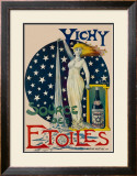 Vichy Etoiles Framed Giclee Print by  Tulus