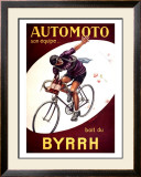 Automoto Byrrh Framed Giclee Print by Leonetto Cappiello
