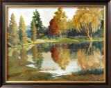 Autumn Reflections Poster by Ed Grey
