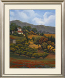 Italian Countryside I Print by Vivien Rhyan