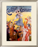 Chocolat Kesteloot Framed Giclee Print by  Charbonnier
