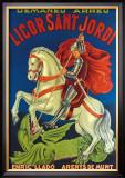 Licor Sant Jordi Framed Giclee Print