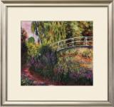 Pont Japonais-Bassin aux Nympheas Print by Claude Monet