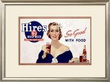 Hire's Root Beer Framed Giclee Print