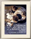 IV Esposizione Triennale di Belle Arti, Milano Framed Giclee Print by Adolfo Hohenstein