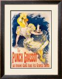 Le Punch Grassot Framed Giclee Print by Jules Chéret