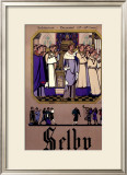 Selby Framed Giclee Print by Fred Taylor