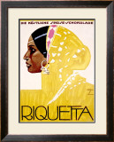 Riquetta Framed Giclee Print by Ludwig Hohlwein
