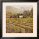 Wine Country I Art by Michael Longo