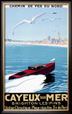 Cayeux Sur Mer Framed Giclee Print by Pierre Commarmond