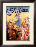 Chocolat Kesteloot Framed Giclee Print by  Charbonnier