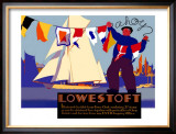 Lowestoft Framed Giclee Print by Austin Cooper