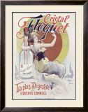 Cristal Floquet Framed Giclee Print by Geo Blott