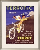 Terrot and Cie Motorcycle Framed Giclee Print by Dreville