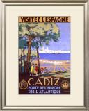 Cadiz Spain Framed Giclee Print