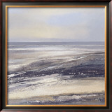 Mud Flat Print by Hildegard Wagner-harms