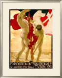 Expo Internationale Turin, 1911 Framed Giclee Print