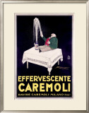 Effervescente Caremoli Framed Giclee Print by Achille Luciano Mauzan