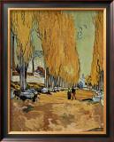 Allee des Alyscamps Prints by Vincent van Gogh