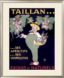 Taillan Framed Giclee Print by  Mich (Michel Liebeaux)