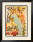 Vichy Etoiles Framed Giclee Print by  Michelle