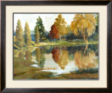 Autumn Reflections Art by Ed Grey