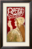 Rajah Framed Giclee Print by Privat Livemont