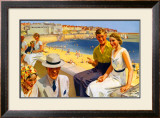 Bridlington, LNER Poster, 1938 Framed Giclee Print by Septimus Scott