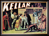 Kellar: The Witch, The Sailor and the Enchanted Monkey, 1905 Posters