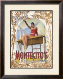 Montecito's Miramar Beach Framed Giclee Print