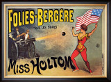 Folies-Bergeres, Miss Holtom Prints
