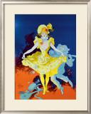 Carnaval Framed Giclee Print by Jules Chéret