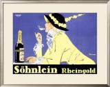 Sohnlein Rheingold Framed Giclee Print by Fritz Rumpf