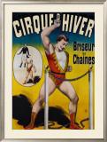 Briseurs de Chaines Cirque d'Hiver Framed Giclee Print