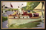 The Broads, LNER/LMS, 1937 Framed Giclee Print by Arthur C Michael